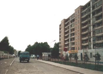 Appartment blocks in UB