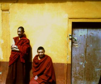 Monks in Ganden