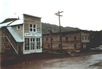 Chitina, begining of the Mc. Carthy road
