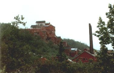 Kennicott mine town