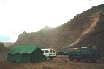 Camping in the shadows of Kailash