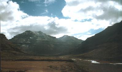 High mountain beauty