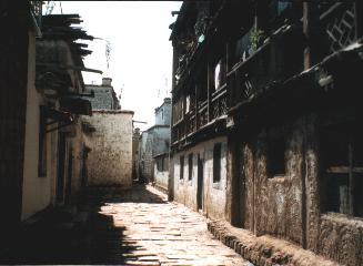 Side alleys off the Barkhor