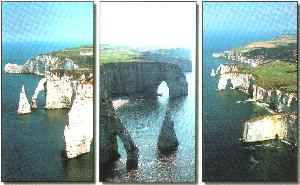 Etretat coastline